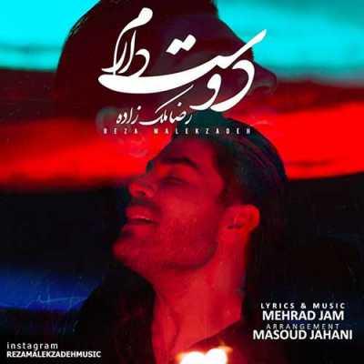 دانلود آهنگ دوست دارم هنوز دلم میخوادتو بمون پیشم رضا ملک زاده